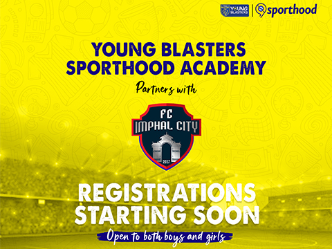 Young Blasters-Sporthood Academy Join Hands With Fc Imphal City